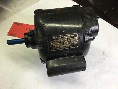 Deming A 8370 16 Hp Ac Pump Motor 115 Volts 1725 Rpm 4p