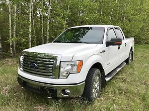 2011 Ford F-150 Crew Cab 4x4 4wd Eco Boost