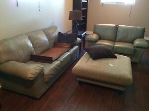 LEATHER COUCH, CHAIR,LOVESEAT