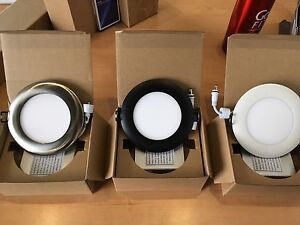 LED 4'' dimmable downlights PROMO!!