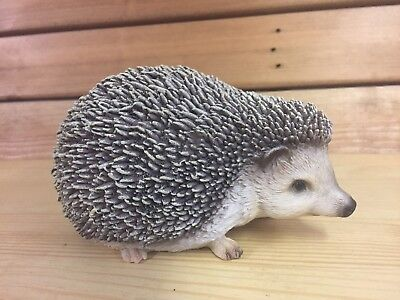 NEW SMALL HEDGEHOG ANIMAL RESIN FIGURE BOXED VIVID ARTS COLLECTABLE