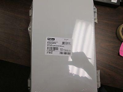 Hoffman Polycarbonate Enclosure E302018ppg Nema 4x Enclosure Inculdes Backplate