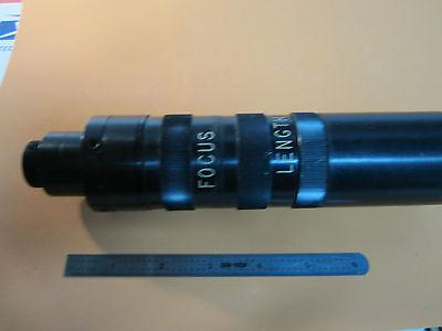 WEIRD OPTICAL TELESCOPE ASSEMBLY RECTANGULAR SLIT ?? LASER OPTICS AS IS BIN#13