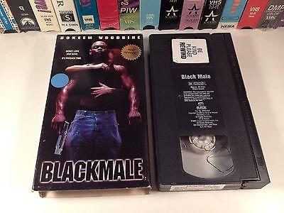 Blackmale Indie Action Thriller VHS '00 Bokeem Woodbine Justin Pierce Roger Rees ()