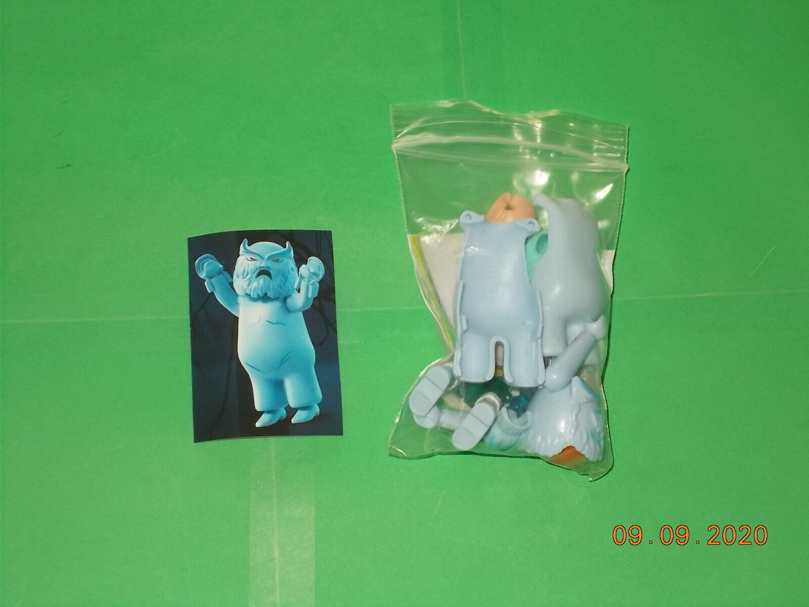 Lego - Playmobil - Scooby Doo Ghosts - Series 1 - Snow Ghost - 70288