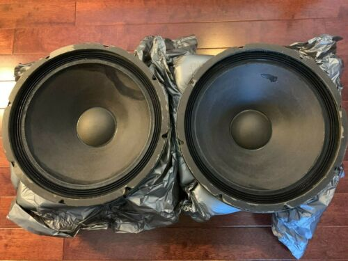 Seeburg DDS1 Woofer Pair, Great Condition, 16 Ohm Alnico magnet, great for Altec