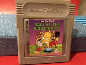 Nintendo Game boy simpsons