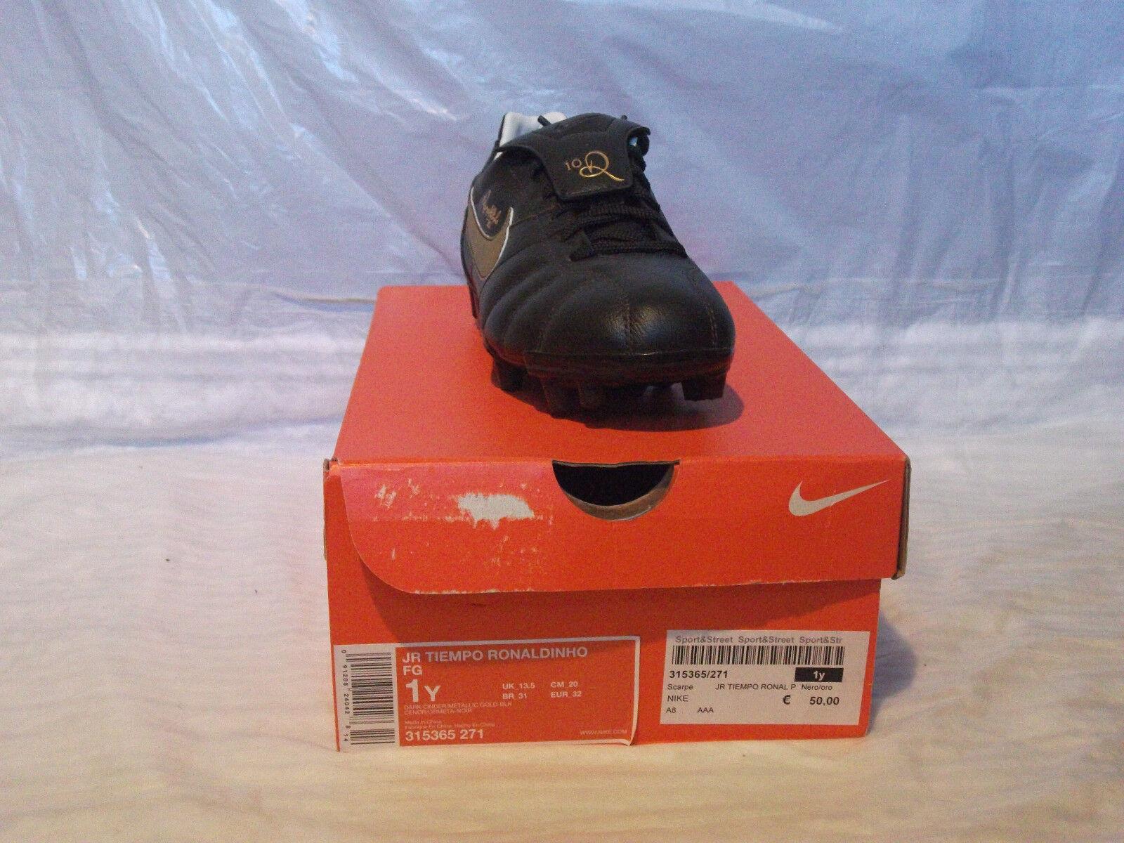 Scarpe da calcio Nike JR Tiempo Ronaldinho FG