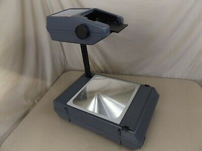 3M Portable Foldable Overhead Projector Model 2000 AG Extra Bulb NOS UNUSED!