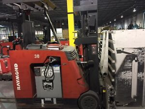 Forklifts and other warehouse equipment
