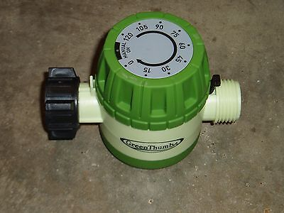 - Automatic Mechanical Water Timer - Hose End