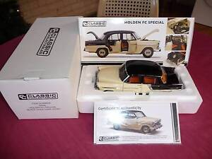 1/18 BIANTE: HOLDEN FC SPECIAL, BLACK / CAPE IVORY. M.I.B. Taree Greater Taree Area Preview