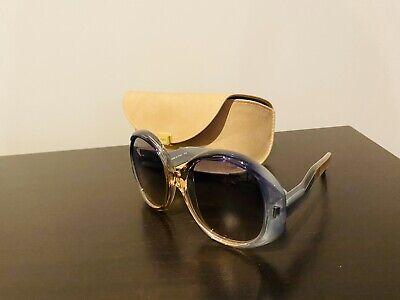 Designer Chloe Semi-Transparent Oval sunglasses for women Semi Oval Sunglasses