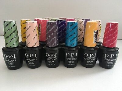 OPI Gel Color Soak Off Nail Polish- MANY COLORS- You Pick