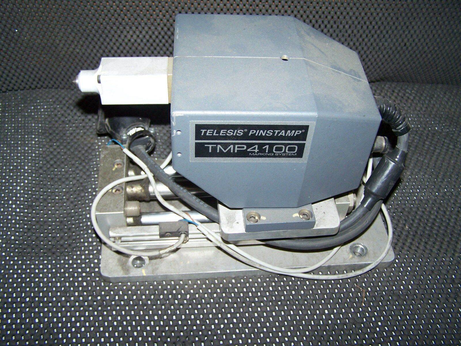 TELESIS PINSTAMP TMP1400 MARKING SYSTEM W/ HEAD