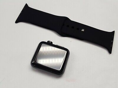 apple watch 316l 38MM BLACK stainless steel sapphire crystal CERAMIC *A GRADE