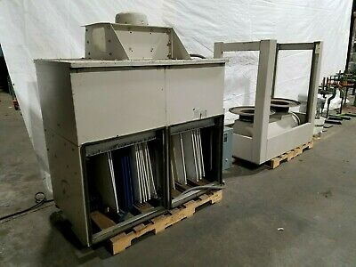 Aaf 7-12 Hp Dust Collector System 3500 Cfm Vacuum Air Filtration
