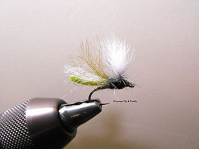 Glow Bug Size 8 Salmon Steelhead Trout Wet Fly Red 1 DZN