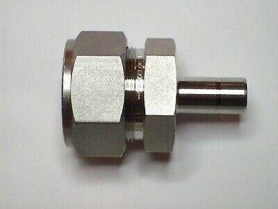 1 - Swagelok Stainless Tube Reducer Fitting 1 Tube X 12 Tube Ss-1610-r-8