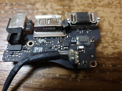 Dc Power Jack Board (MacBook Air 13 A1466 2013 15 Power DC Jack I/O Board Audio USB Strom Lade Buchse)