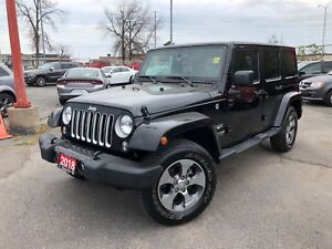 2018 Jeep Wrangler UNLIMITED SAHARA**4X4**NAV**BLUETOOTH**