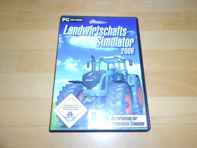 Landwirtschafts-Simulator 2009 (PC, 2009, DVD-Box)