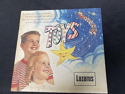 vtg 1959 Lazarus christmas toy catalog Columbus ohio