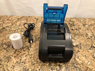 Usbbluetooth Pos Printer High Speed Direct Thermal Dot Receipt With Roll Paper