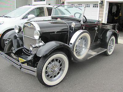 1929 Ford Model A PIck up truck with convertible top 1929 Ford Model A reproduction from 1980