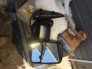 Right/left chev or gmc tow mirrors