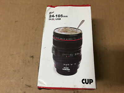 Mango Spot Best Camera Lens Thermos Stainless Steel Cup/ Mug for Coffee or