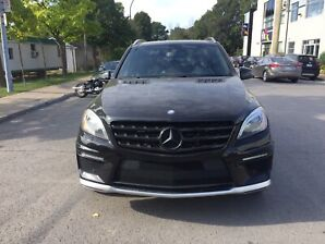 Mercedes  AMG ML63 V8 2012