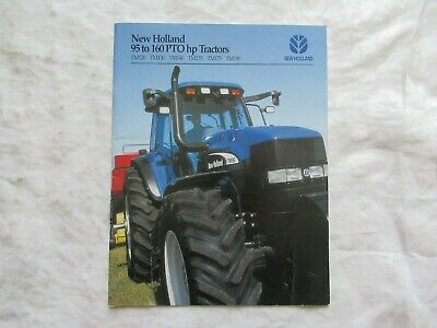 2002 New Holland 95 To 160 Pto Hp Tractors Brochure