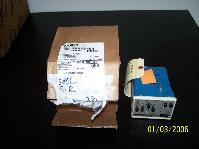 GE GENERAL ELECTRIC POWER SENSOR SOLID STATE UNIT 184L373G-18  TYPE PS-1