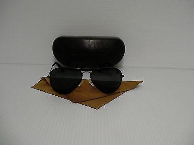 Original True Religion Sonnenbrille Polarisiert Schwarz Rahmen Gläser Aviator