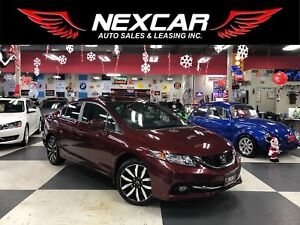 2015 Honda Civic TOURING AUT0 NAVI LEATHER SUNROOF CAMERA 77K