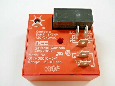 Ncc Q1t-00010-341 Time Delay Relay - New In Box