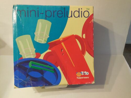 Tupperware Mini Preludio Set Child Serving Set New / Sealed
