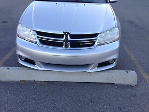 Dodge Avenger sxt 2012 silver with 2 way remote starter