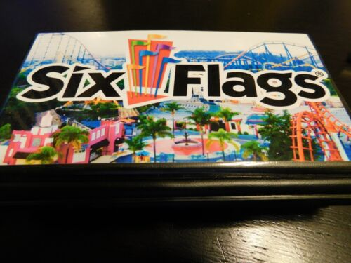 Elongated Pressed Penny Souvenir Album Book /, Six Flags Magic Mountain 2
