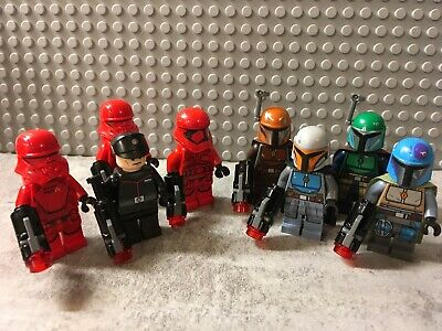 LEGO Star Wars Minifigures (75266 & 75267) You Pick - Sith Trooper / Mandalorian