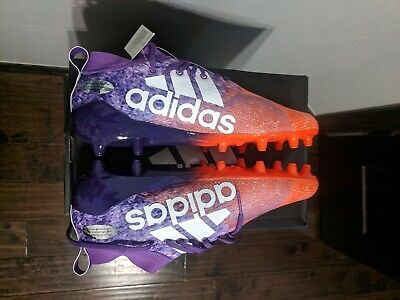 newest b8448 78141 Adidas Adizero 8.0 Cleats Men Soccer Shoes Size 10 Orange Purple BRAND NEW
