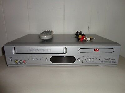 Broksonic DVCR-810 Series B DVD Player/VCR Combo w/ Remote