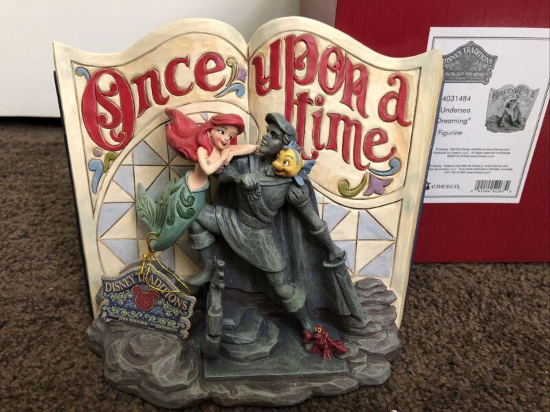 """NEW Disney Jim Shore The Little Mermaid Storybook """"Undersea Dreaming"""" #4031484"""