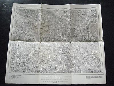 alte Landkarte Karte des Deutschen Reiches Nr.655 Altkirch von 1908