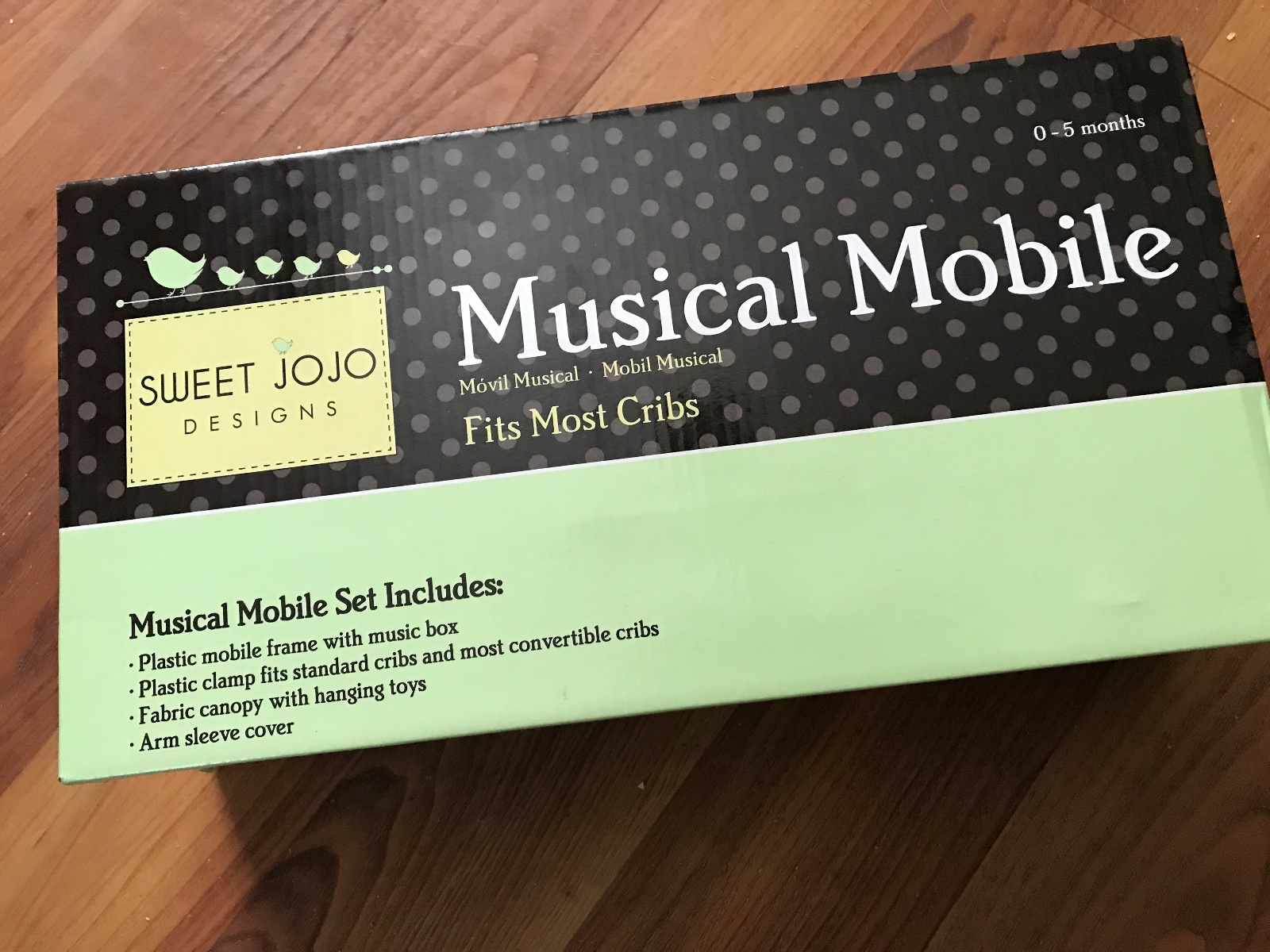 Sweet JOJO Designs Musical Mobile Fits Most Baby Cribs For 0 To 5 Months - $10.99