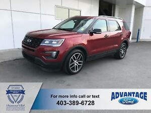 2016 Ford Explorer Sport Leather - Dual Panel Moonroof
