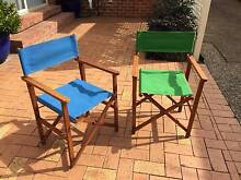 Directors' chairs Hamilton South Newcastle Area Preview
