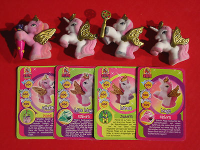 Alle 4 Baby Filly Fairy Gold Edition  Schulfee & Magic & Miracle & Miss Magic