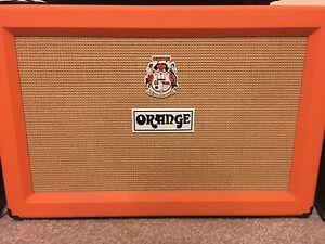 Orange 2x12 Guitar Amp Cabinet